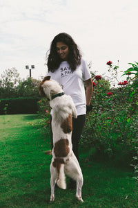 """Save A Paw"" Animal Logo Tee."