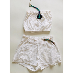 Crop Top and Short Set