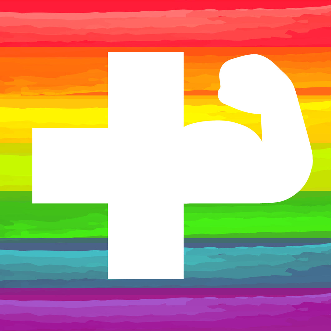 rainbow power cross
