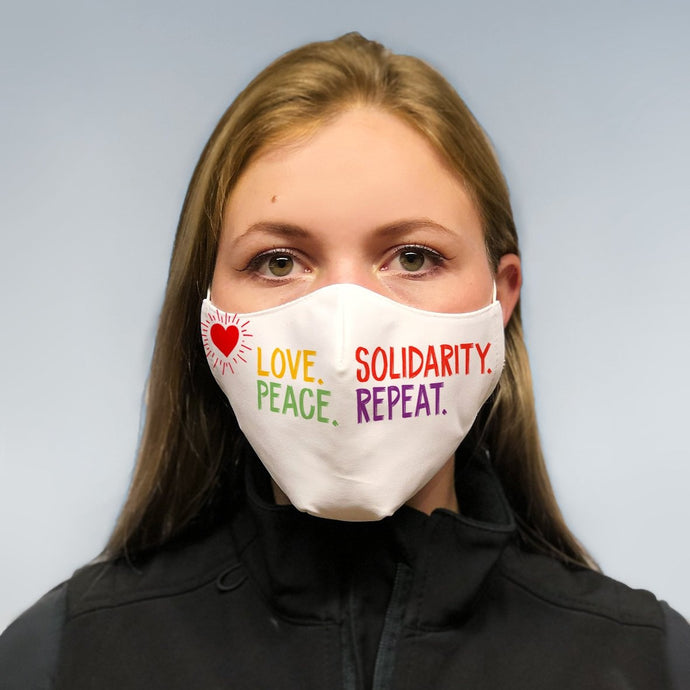 solidarity mask -  repeat