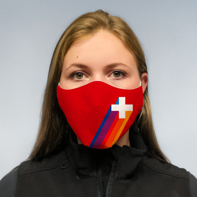 solidarity mask - switzerland rise again