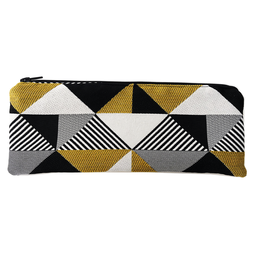 Deer Design Pencil Case - Thirteenth Avenue Mustard