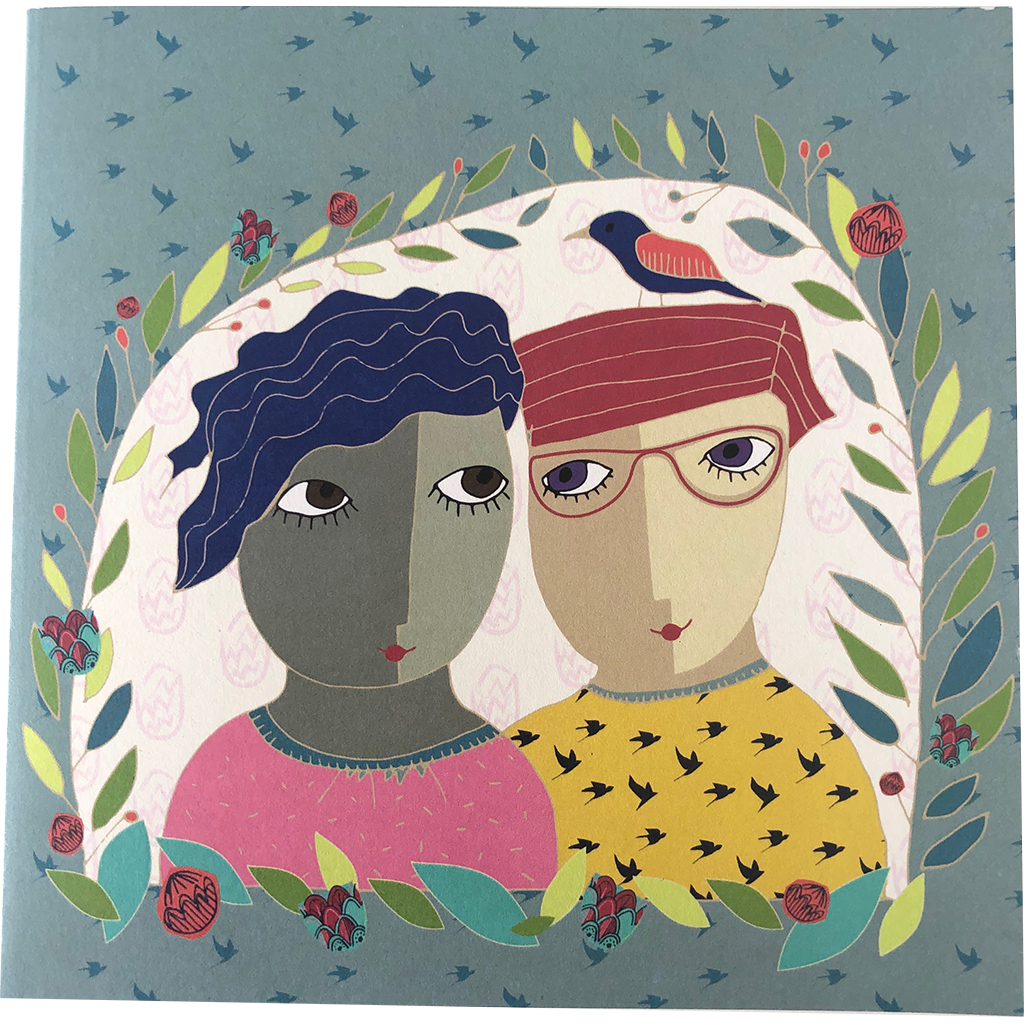Nici Brockwell Card - Couple