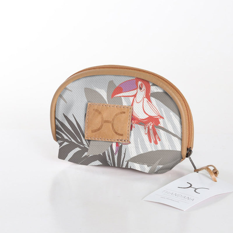 Thandana Makeup Bag Fabric / Toucan Tango – Moonstruck