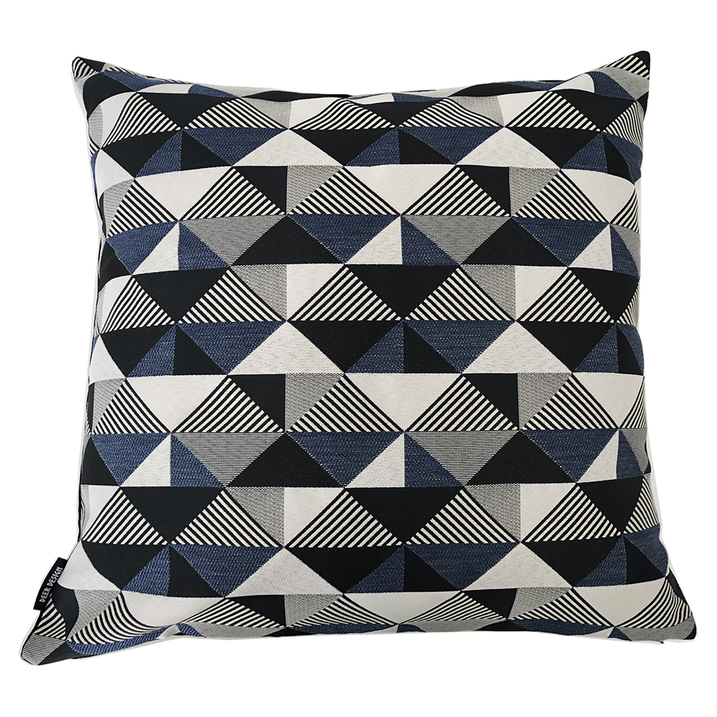 Deer Design Cushion Covers 60x60 - Thirteenth Avenue Navy