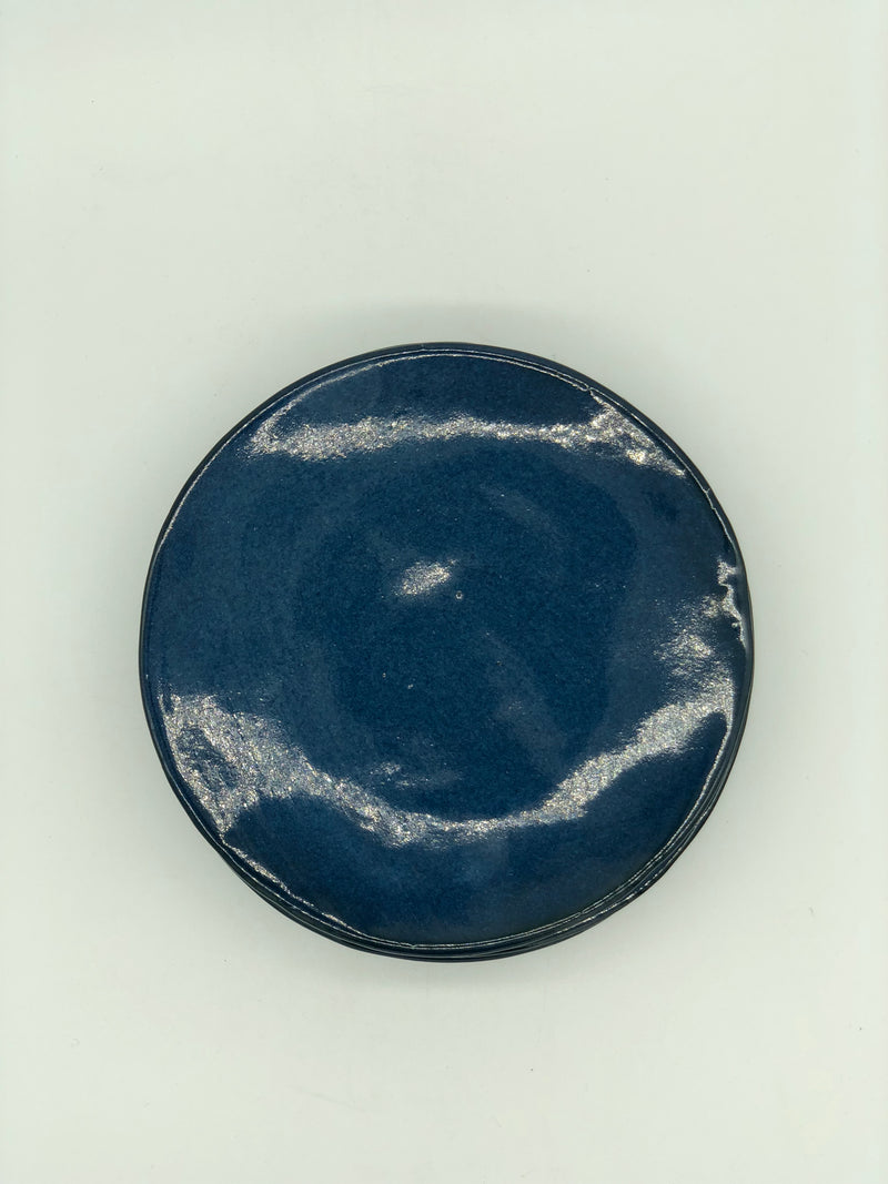 Mervyn Gers Side Plate Sapphire Blue set of 4