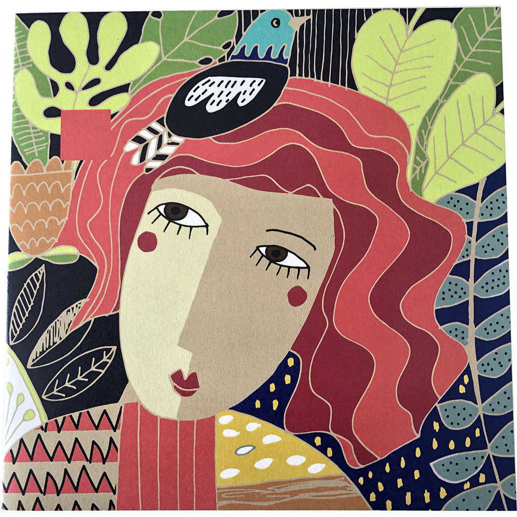 Nici Brockwell Card - Jungle