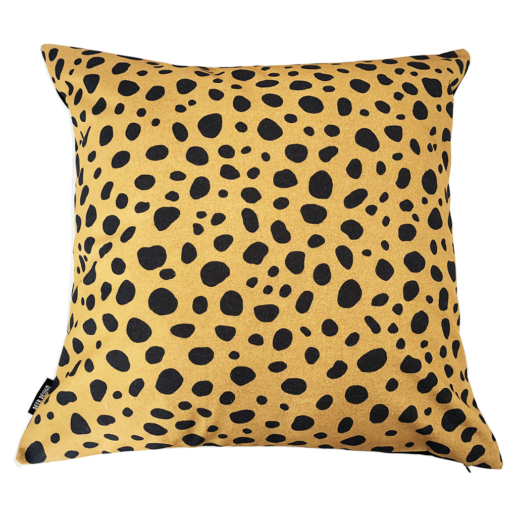 Deer Design Cushion Covers 60x60 - Desert Storm Ochre