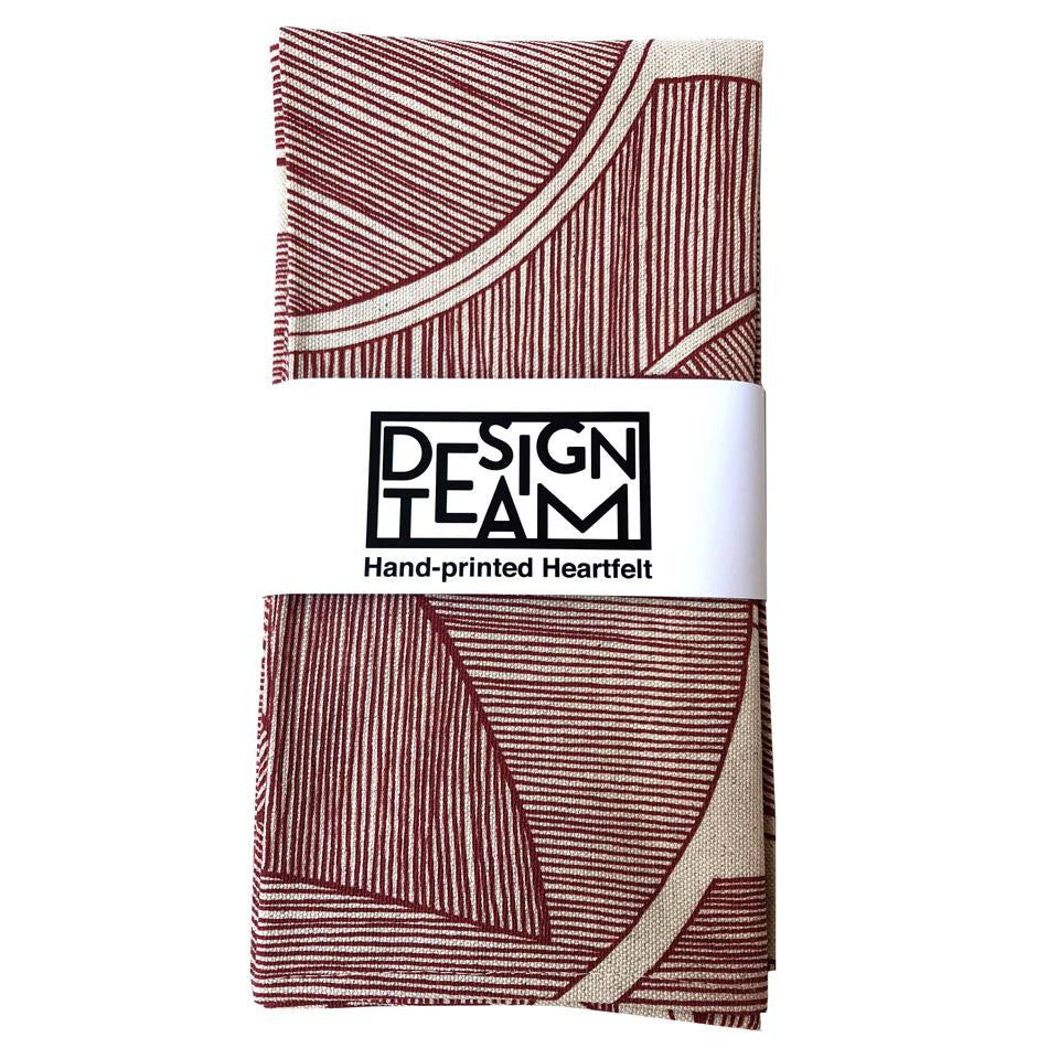 Peppertree Napkin Set of 2 - Disa Terracotta on Linen