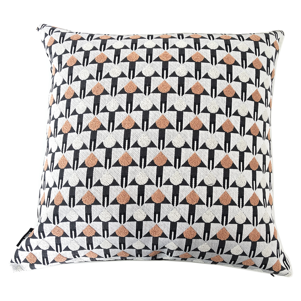 Deer Design Cushion Covers 60x60 - San Jose Coral