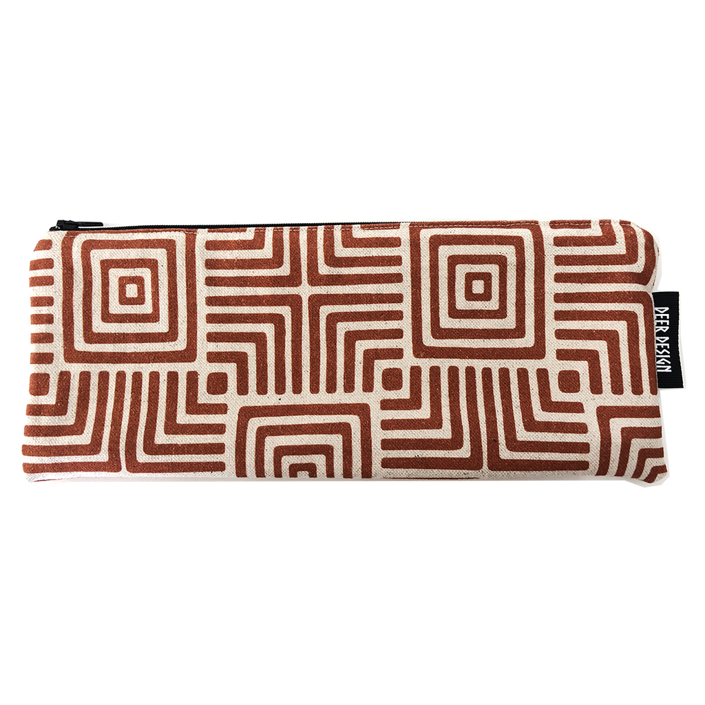 Deer Design Pencil Case - Geomaze Clay