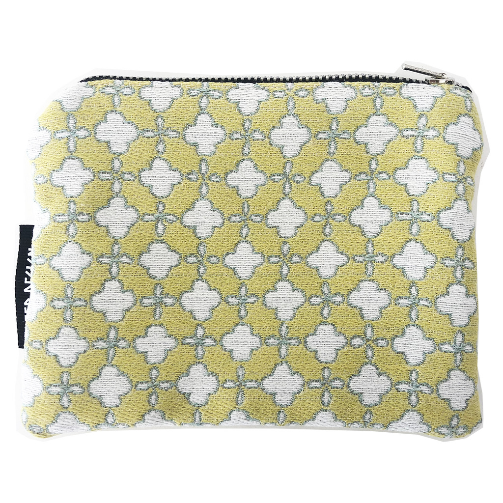Deer Design Zip Purse Small - Terrazzo Margarita Yellow
