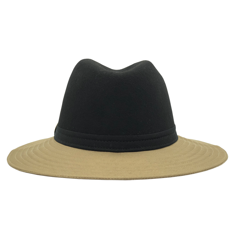 Simon & Mary Be Cool Jerzy 50-50 Hat Black & Beige