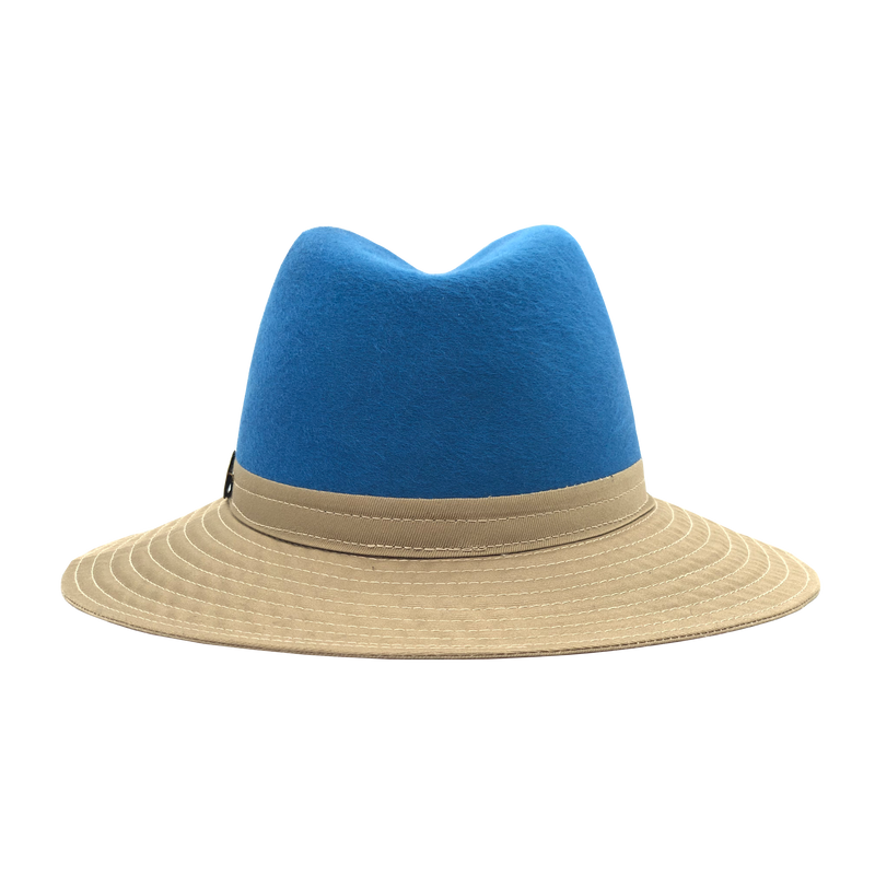 Simon & Mary Be Cool Jerzy 50-50 Hat Beige & Blue