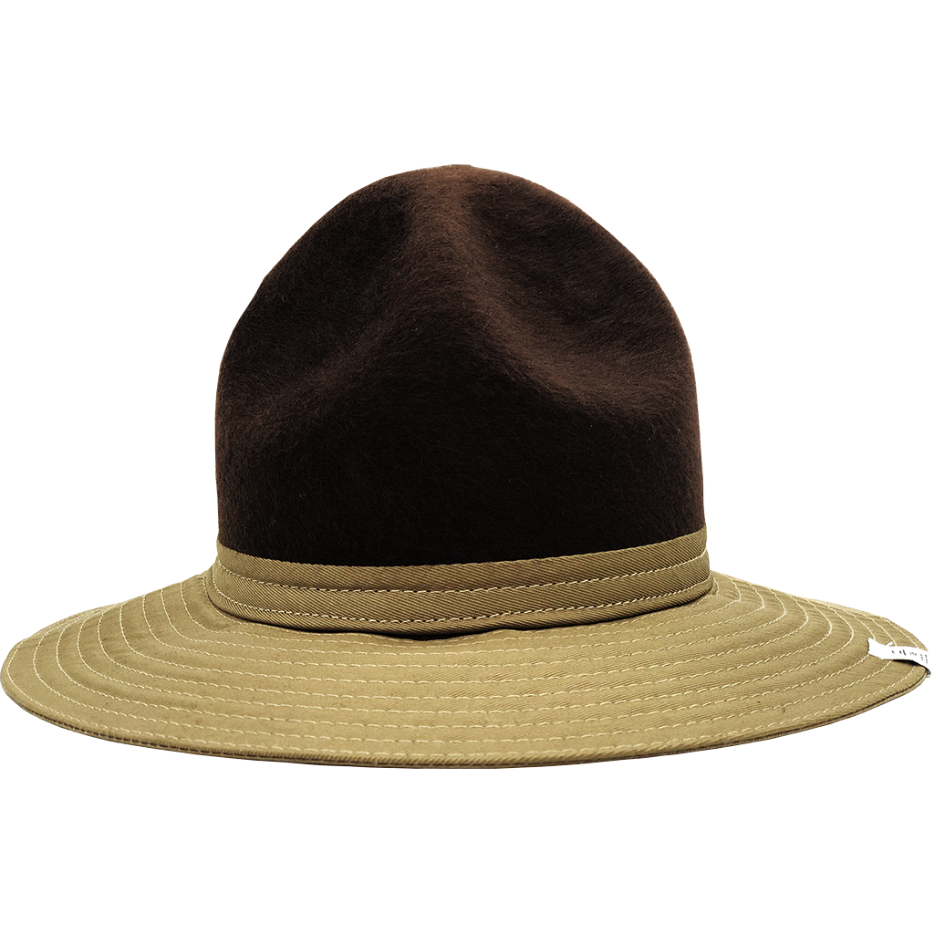 Simon & Mary Be Cool Mountie 50-50 Hat Beige & Brown