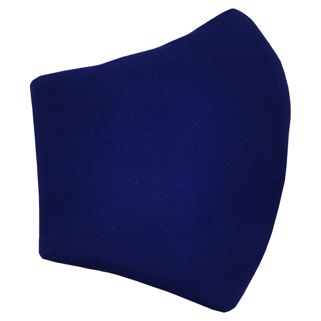 Face Mask V2 - Blue  (assorted cotton fabric for inner mouth piece)