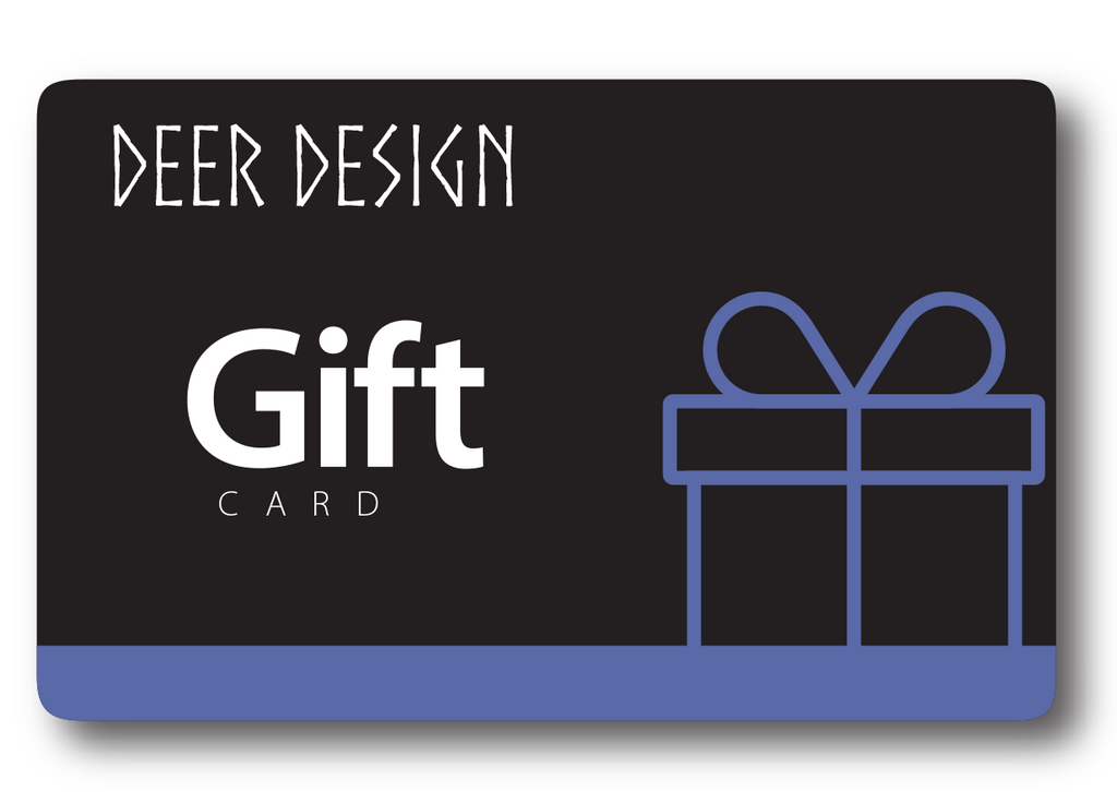 Deer Design Gift Card