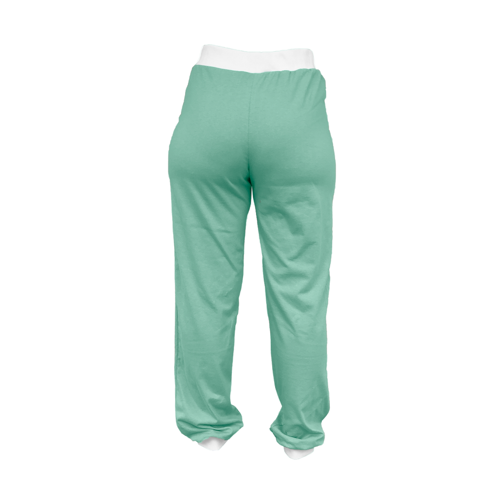 Mint Green High-Waisted Sweatpants
