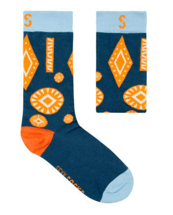 Sexy Socks Africa Stamped