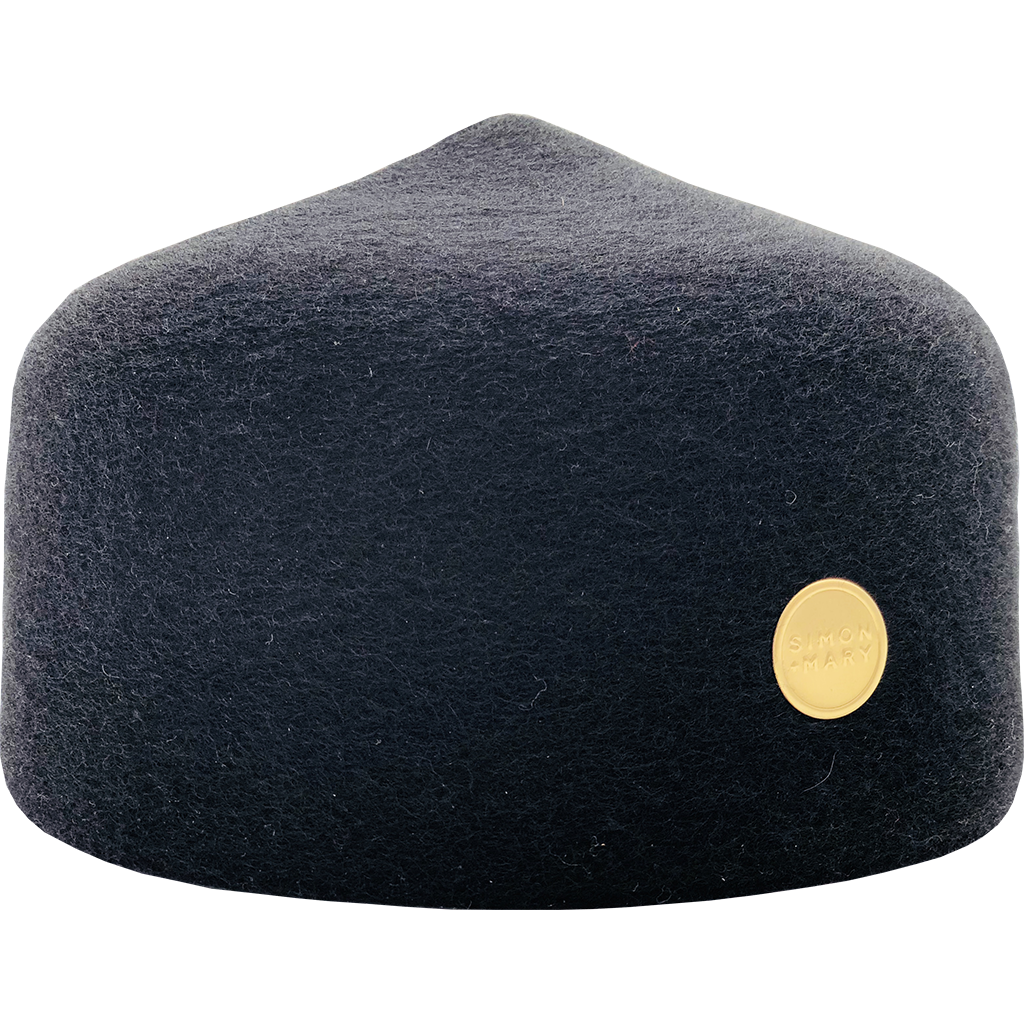 Simon & Mary Fez Hat Black