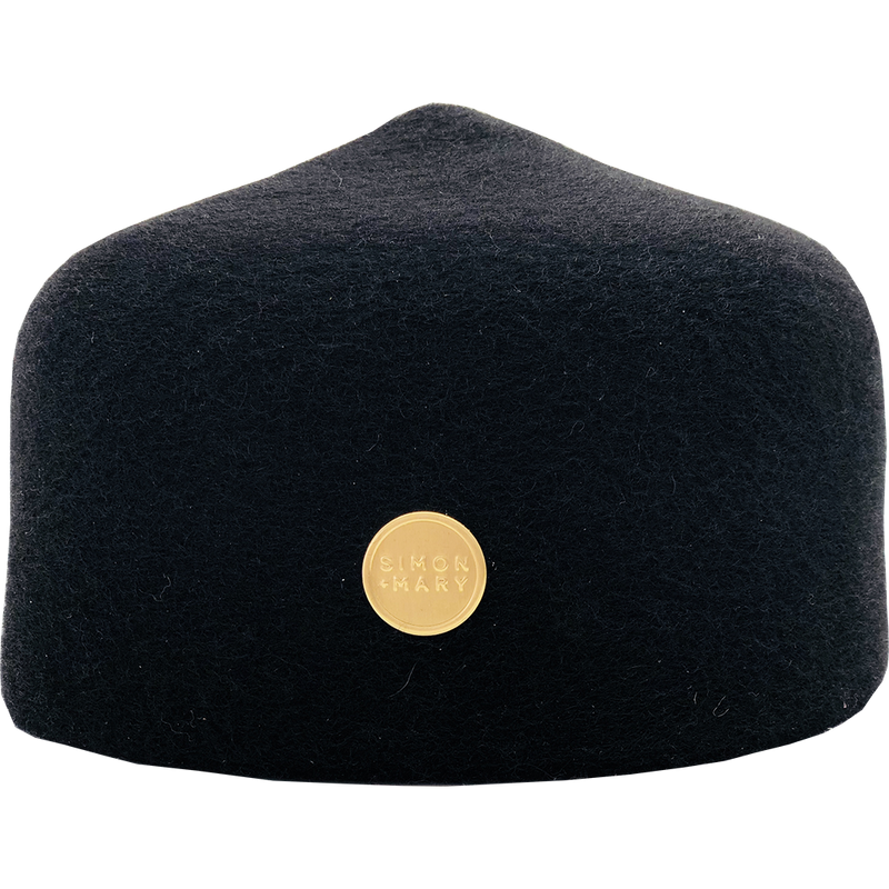 Simon & Mary Military Fez Hat Magenta