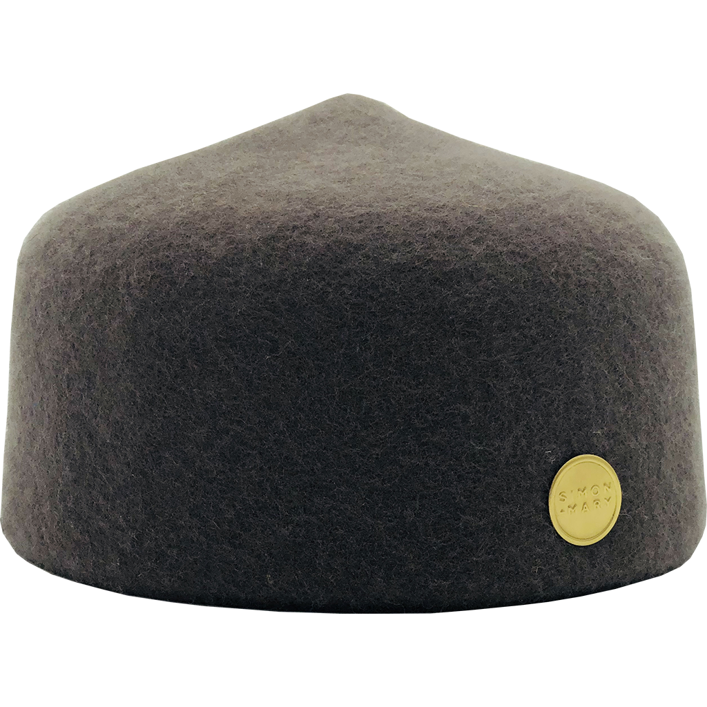 Simon & Mary Fez Hat Grey