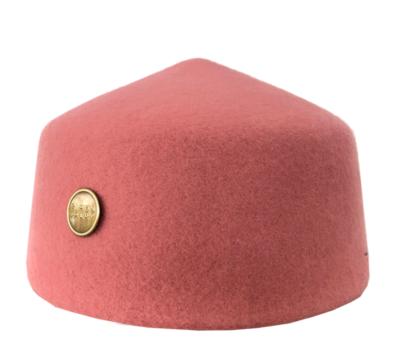 Simon & Mary Military Fez Hat Olive