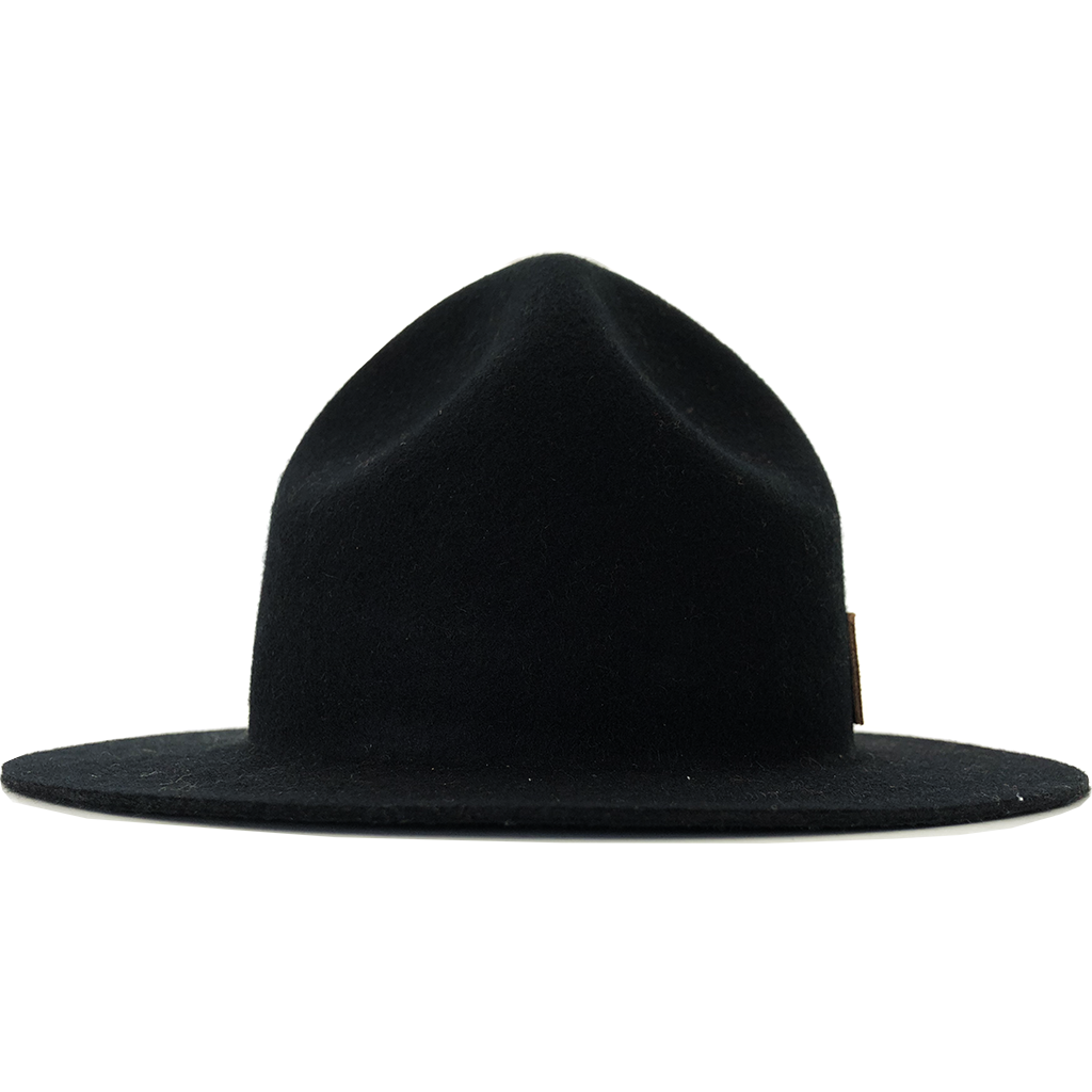 Simon & Mary Mountie Raw Hat Black