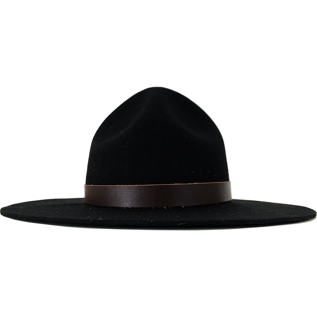 Simon & Mary Mountie Traditional Hat Black