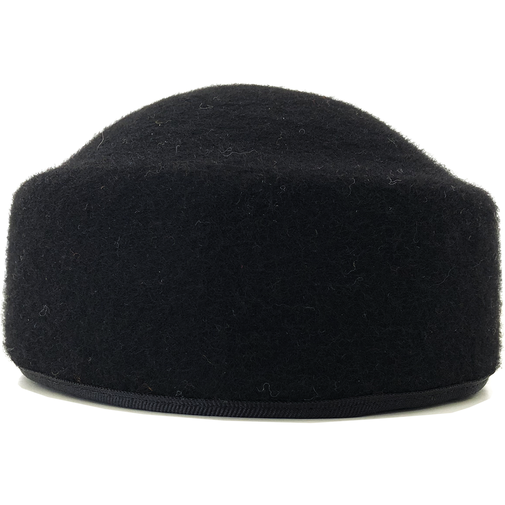 Simon & Mary Pillbox Fez Hat Black