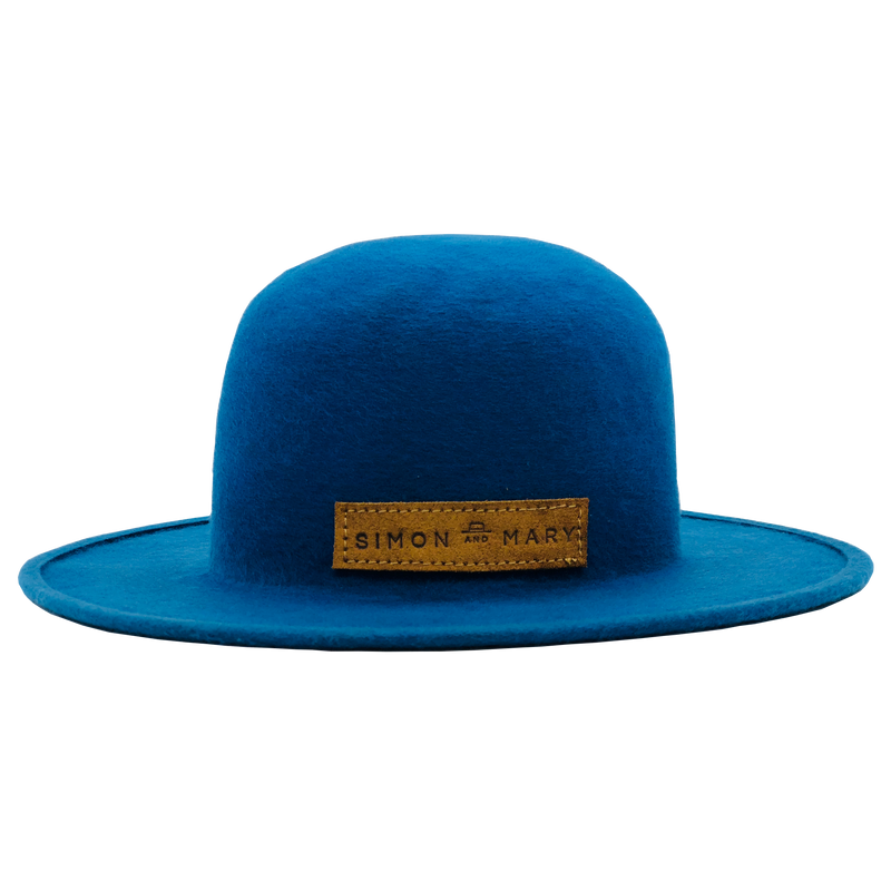 Simon & Mary Roberto Raw Hat Blue