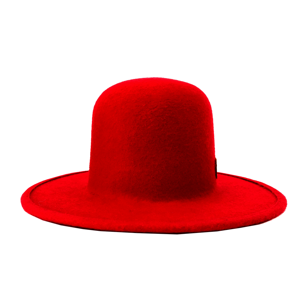 Simon & Mary Roberto Raw Hat Red
