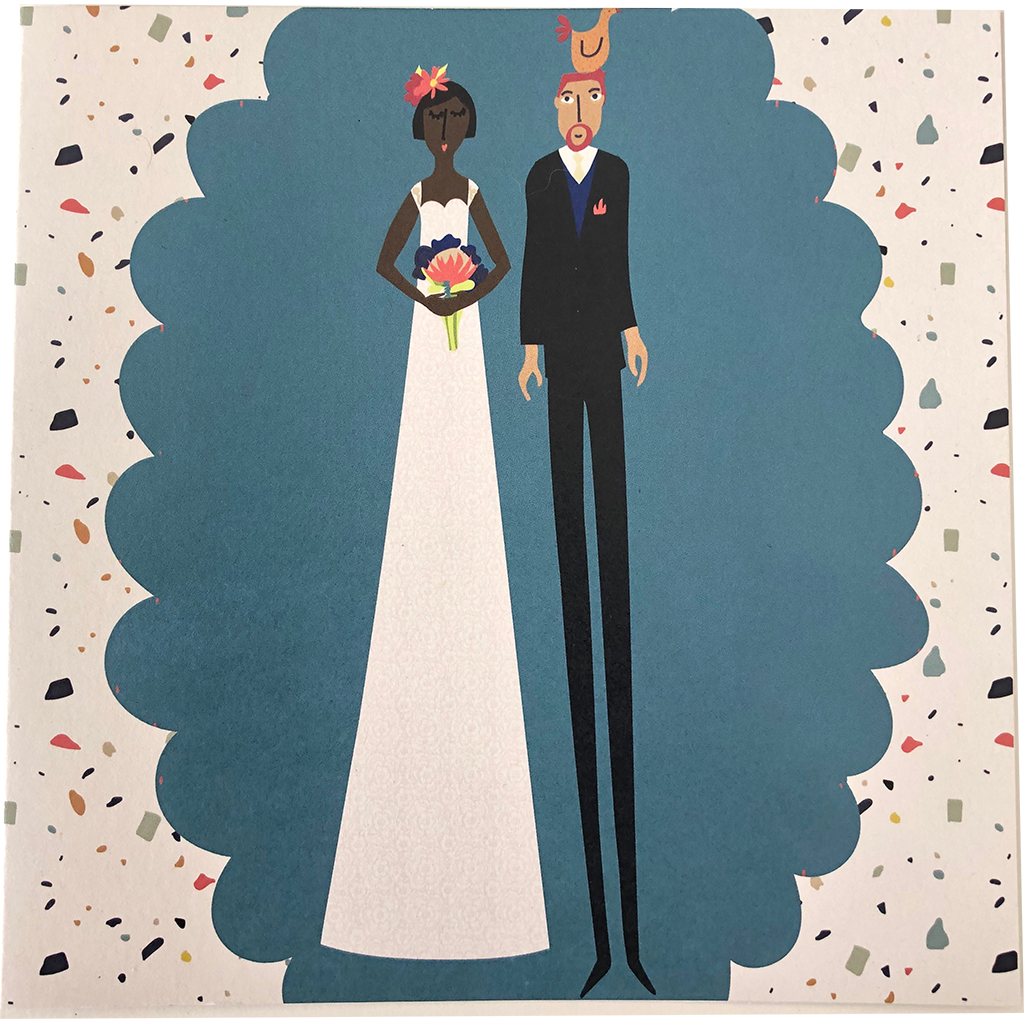 Nici Brockwell Card - Wedding