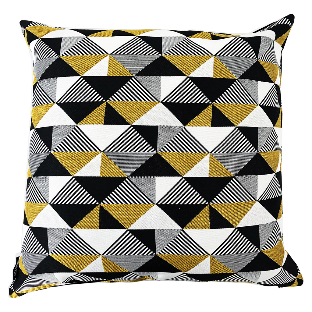 Deer Design Cushion Covers 60x60 - Thirteenth Avenue Mustard
