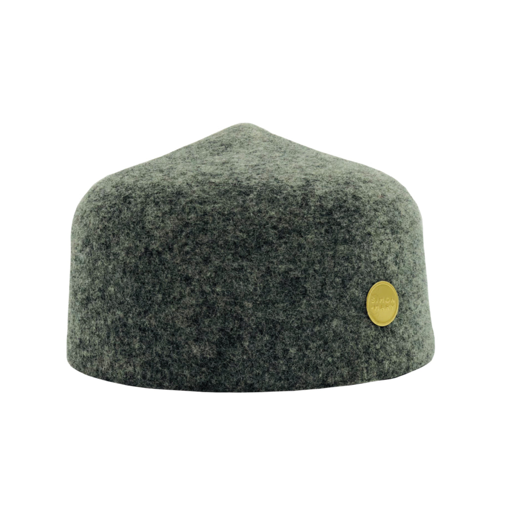 Simon & Mary Fez Hat Mix Grey