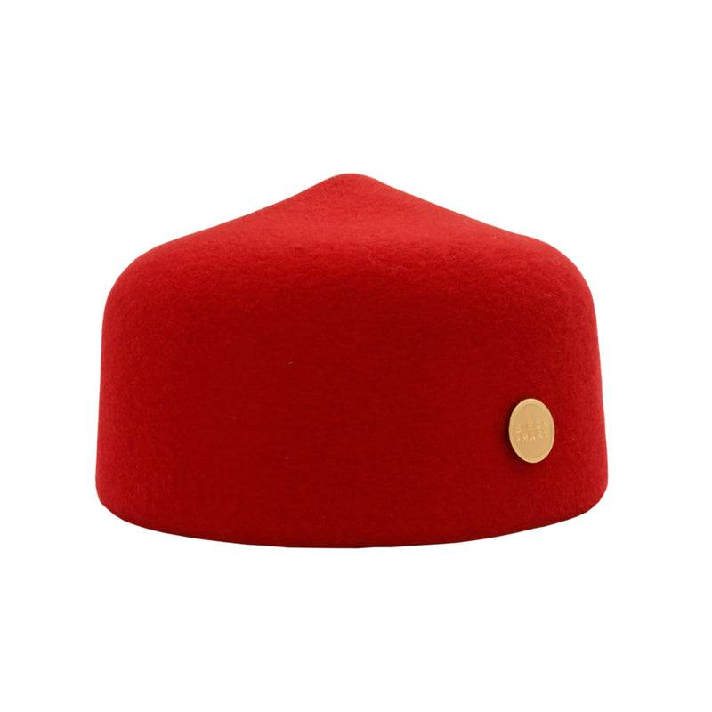 Simon & Mary Fez Hat Red