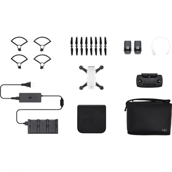 DJI Spark Quadcopter Fly More Combo (Alpine White) - Africa Drone Kings
