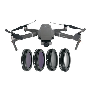 DJI Mavic Zoom 4pcs Lens Filter MCUV CPL ND4 ND8 - Africa Drone Kings