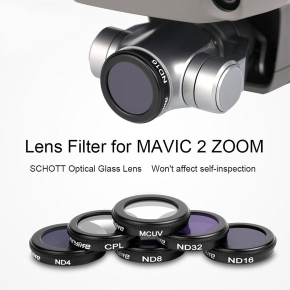 DJI Mavic Zoom 6 Filters MCUV CPL ND4 ND8 ND16 ND32 - Africa Drone Kings