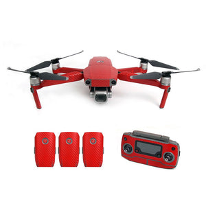 DJI Mavic 2 Waterproof PVC Decals Carbon Grain Skin [does not include drone] - Africa Drone Kings