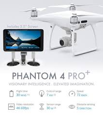 DJI Phantom 4 Pro Plus (with built-in screen) - Africa Drone Kings
