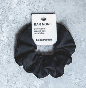 BAR NONE BIODEGRADABLE SCRUNCHIE