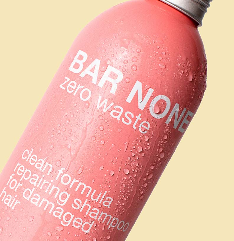 BAR NONE REPAIRING SHAMPOO 400ml