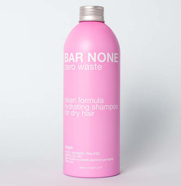BAR NONE HYDRATING SHAMPOO 400ml