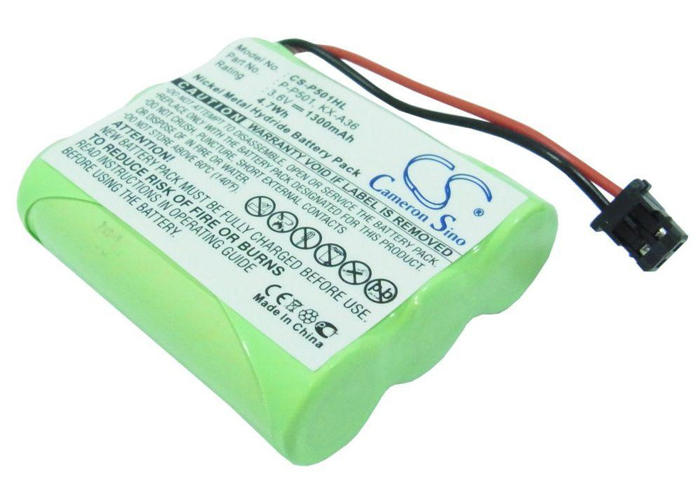 GE 10-0935 2-6936GE2 2-9445 5-9519 BT-15 1300mAh Replacement Battery