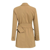Annabel blazer dress coat