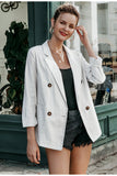 Bianca light grey blazer