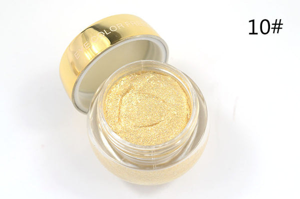Love Alpha Single Color EyeShadow Gel 16 glitter Colour - ALLUNIK SHOP
