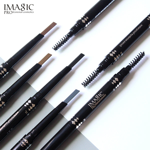 IMAGIC  Eyebrow Automatic Pro Waterproof Pencil + brush - ALLUNIK SHOP