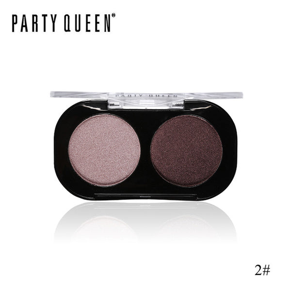 Party Queen 2 colours Eyeshadow Palette - ALLUNIK SHOP